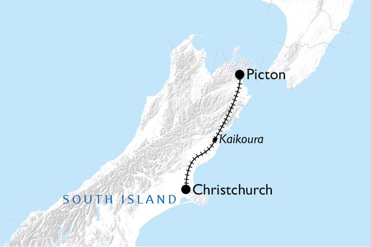 Coastal Pacific Map