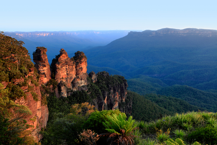 Australia New South Wales Katoomba Three Sisters