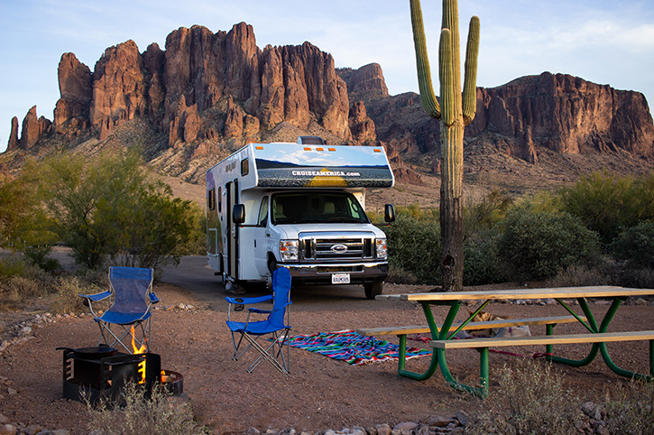 Cruise America, Lost Dutchman, USA