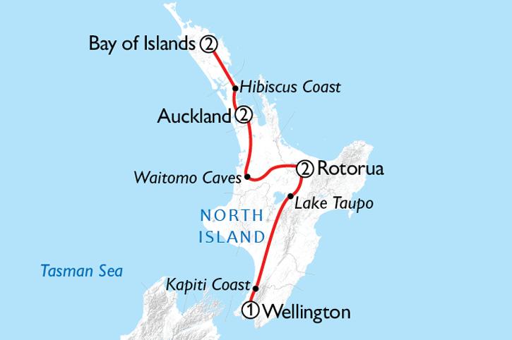 Northern Spotlight Map