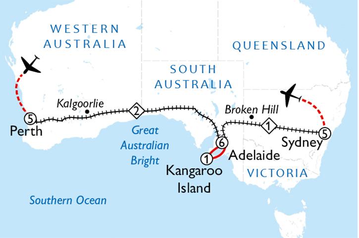 Ocean to Ocean By Rail 3 Week