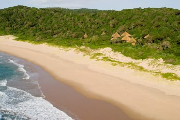 Thonga Beach aerial